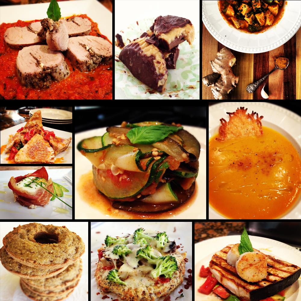 Food-Collage-Black
