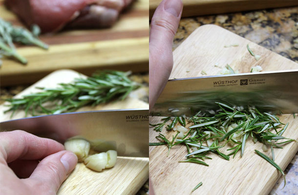 Garlic-and-herbs