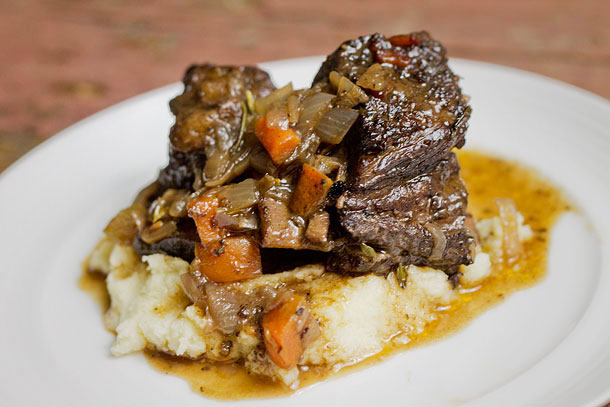 Red Wine Braised Short Ribs (Paleo, Grain Free, Gluten Free) | Slim ...
