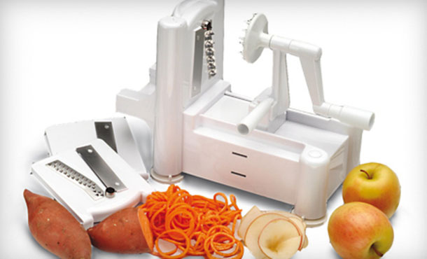 Paderno World Cuisine Spiral Vegetable Slicer Giveaway!