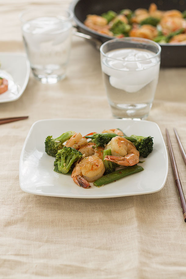 Shrimp with Garlic Sauce