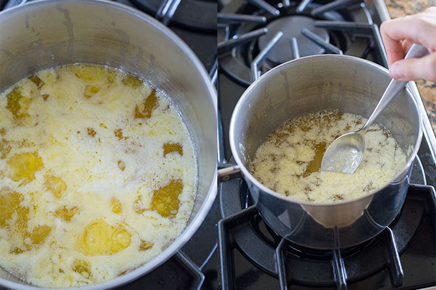 Making-ghee