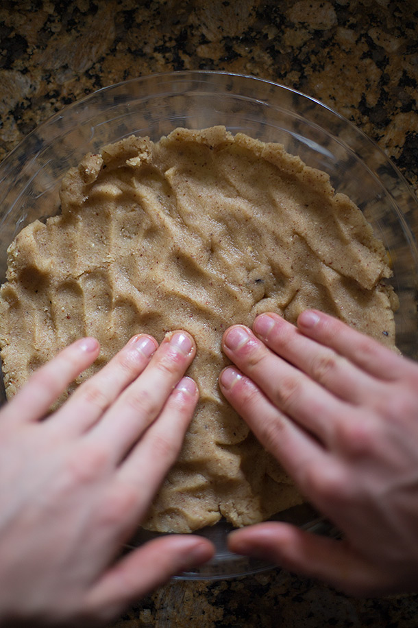 Pressing-pecan-dough