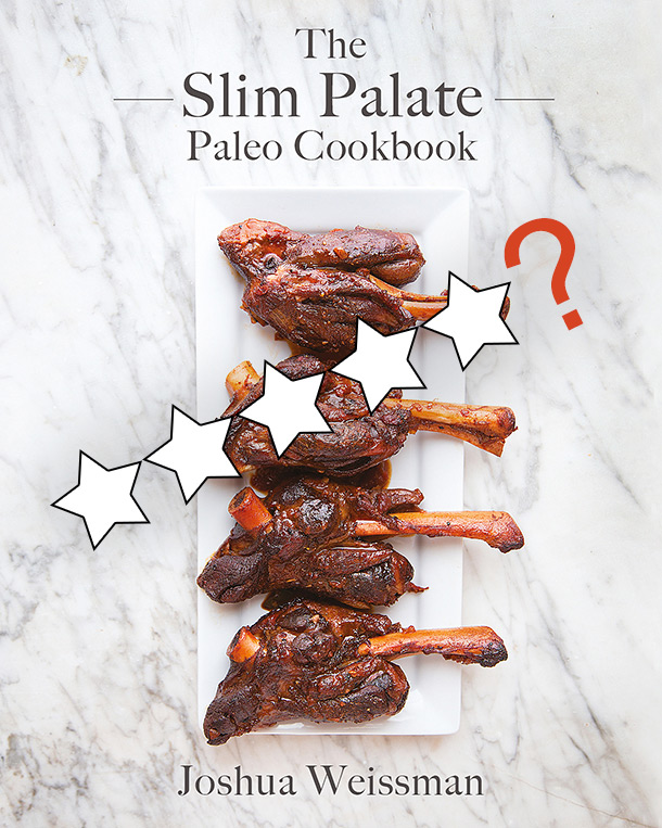 Please give Slim Palate reviews on his recently released cookbook