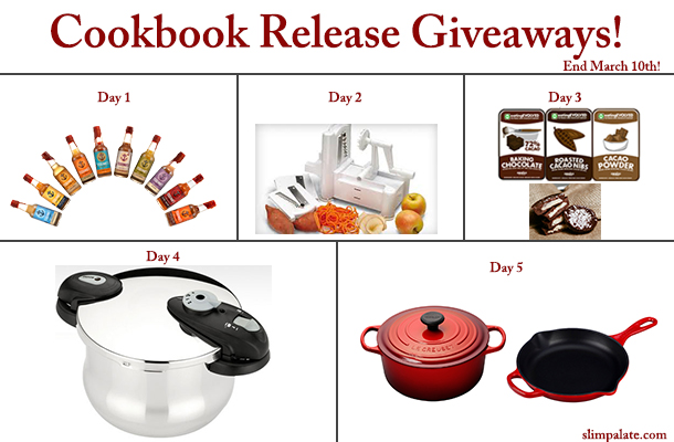 Cookbook Release Celebration Giveaways
