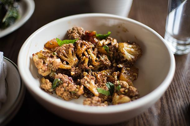 Cauliflower-Pine-Nuts-Grape-Fruit-Caraway-Mint