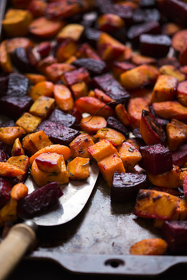 Roasted Root Vegetables | Slim Palate | Bloglovin'