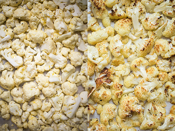 Cauliflowe-pre-and-post-roasting