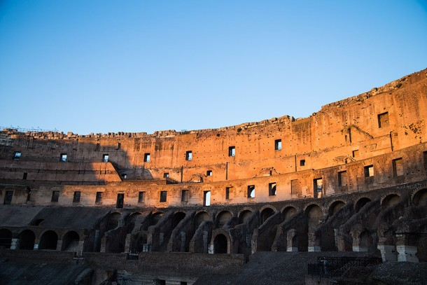 Colosseum-Sunsetting