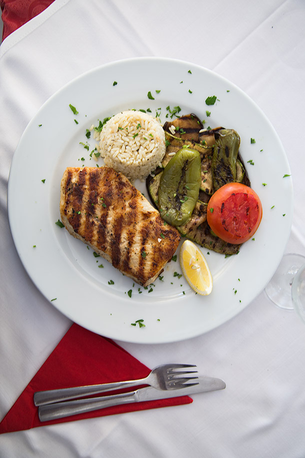 Grilled-swordfish