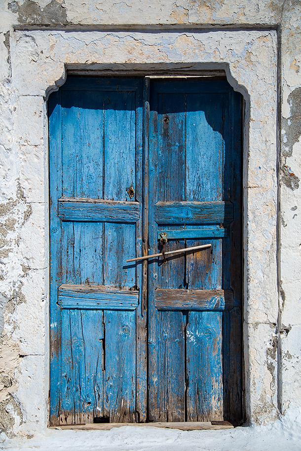 Santorinian-Door