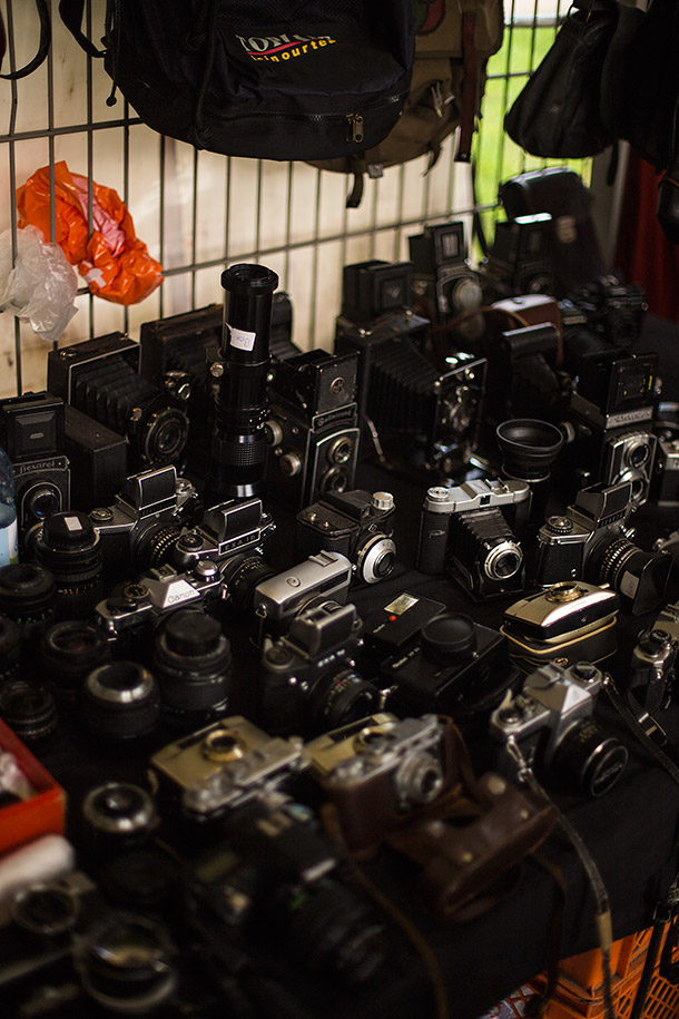 Cameras-at-flea-market