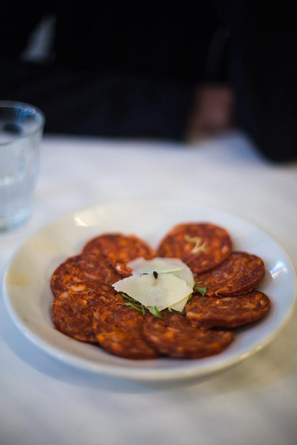 Chorizo-platter