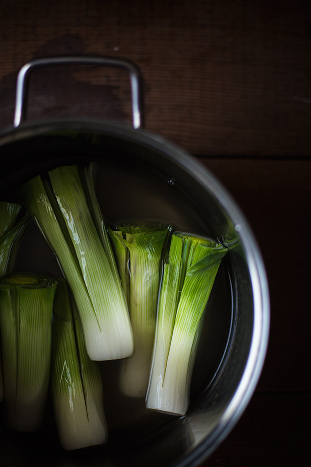 Leeks-SOaking