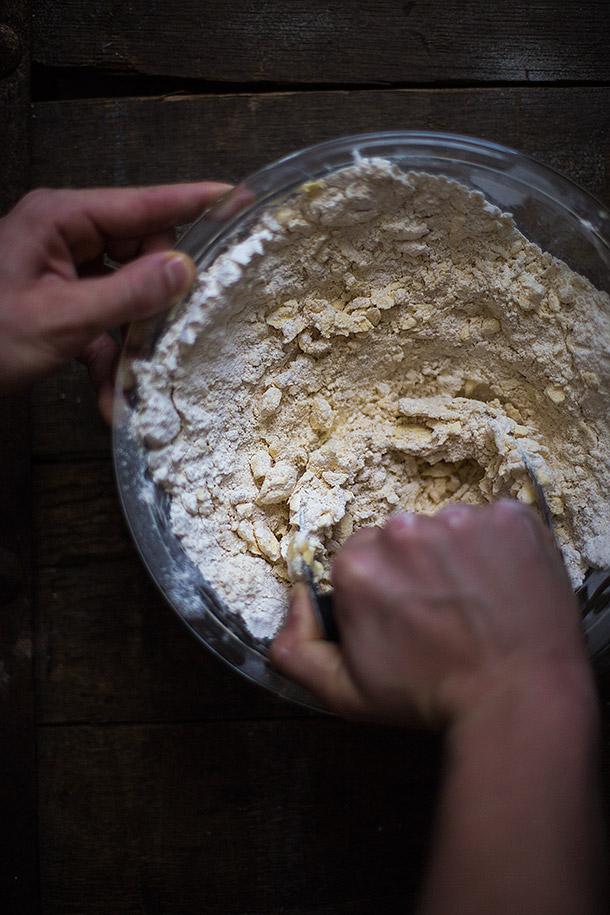 Cutting-Butter-into-Dough
