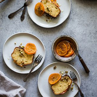 French Yogurt Almond Cake