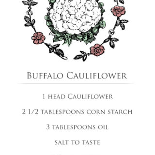 GIF Recipe: Buffalo Cauliflower