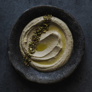 Hummus with Pistachio and Sesame